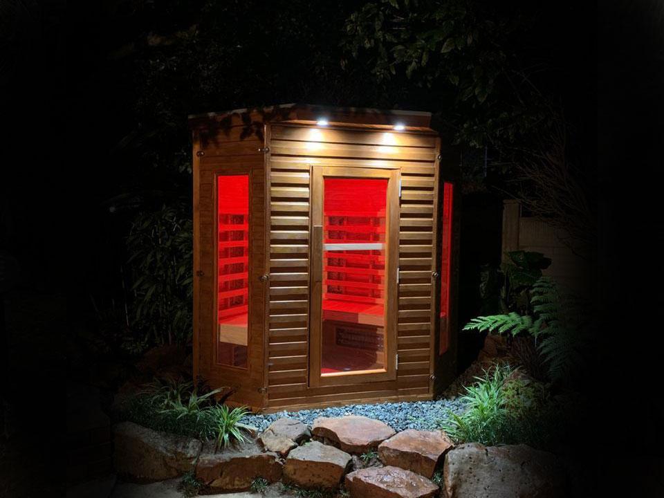 Porta Spa - Outdoor FAR Infrared Sauna